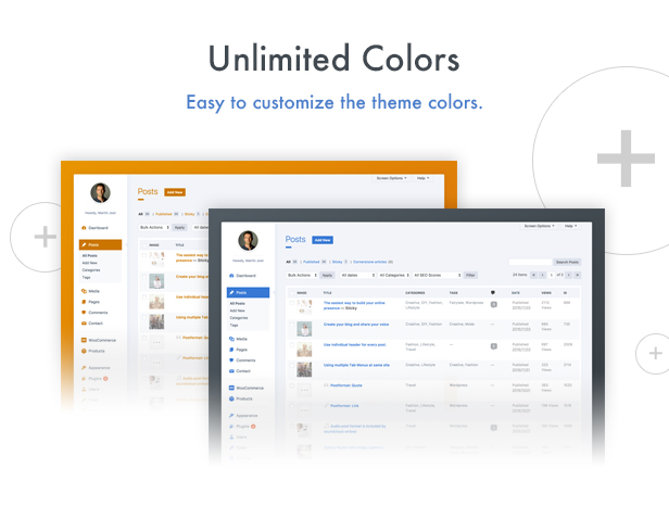 wphave Admin - A clean and modern WordPress Admin Theme - 2